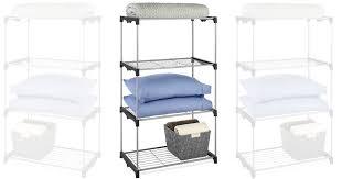 whitmor 4 tier shelf tower closet storage organizer 23 64 regular 34 99