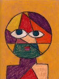 paul klee was a swiss artist from the early 1900 s who liked to turn things into simple geometric shapes this sample is based on his head of a man a