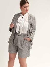 tailored linen blazer