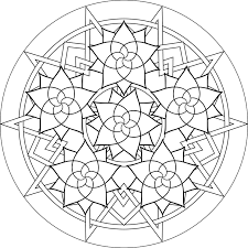 Small Picture Mandala coloring pages printable ColoringStar