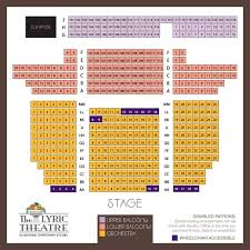 Stuart S Opera House Seating Chart The Modell Lyric Seating Chart Lyric Opera House Seating Chart