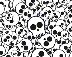 Skull Pattern Beauteous How To Design A Skate Deck With A Cool Skull Pattern