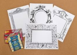 historical art frames educational craft for the classroom