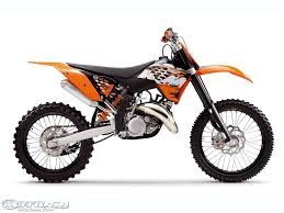 2008 ktm motocross first look motorcycle usa