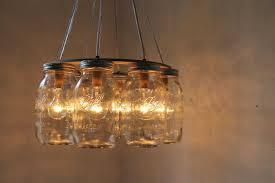ball jar lighting. Chandelier Made From Mason Jars Inspirational Wagon Wheel Jar Quart Sized Ball By Bootsngus Lighting