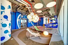 google office tel aviv 31. Beach-themed Arcade Room Google Office Tel Aviv 31