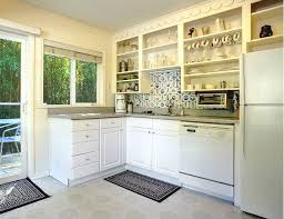 open shelving kitchen remove cabinet doors