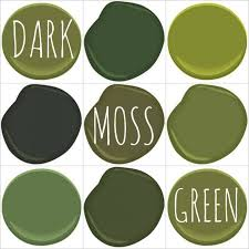 color on trend deep mossy olive green colours green paint colors and green paint colors