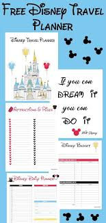 Vacation Planner Online Disney Travel Planner Diy Crafts Online Disney Planner