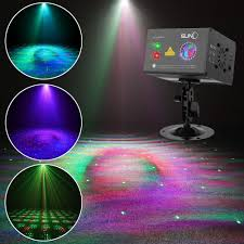 Laser Light Party Machine Laser Projector Suny Sound Activated Christmas Dj Laser Lights Machine Party Light Rgb Multiple Gobos Projector Full Color Galaxy Led Ripple Wave