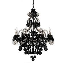 black chandelier lighting. Black Modern Chandelier For Large (#3 Of 12) Lighting B