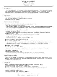professional nursing resume