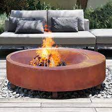 Fire Pits Colour Material Guide Milkcan Outdoor Products