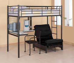 awesome loft beds with desk and couch. Delighful Couch Loft With Futon Underneath Unique Ideas Of Twin Desk Best Home Design  And Bunk Beds Kids For Awesome Couch S
