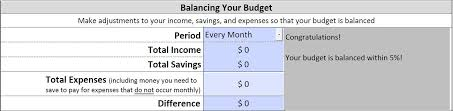 How To Make A Monthly Budget Making Your Budget Office Of The Superintendent Of