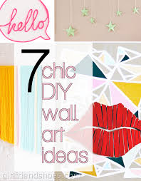 chic wall art ideas on chic wall art ideas with 7 chic diy wall art ideas