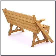 stunning bench converts to picnic table exterior set and folding convertible outdoor bench garden picnic table 700 700 jpg gallery