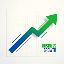 Business Chart Images Business Growth Steps Chart Arrow Concept Vector Free Download