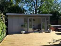 outside office shed. contemporary u0027kiteu0027 combination garden roomstore in signal grey search for outside office shed r