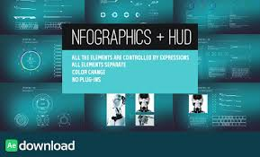 Videohive Infographics Hud Ae Project Free After