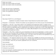 employment application cover letter format cover letter selection criteria