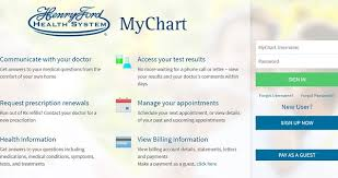 Henry Ford My Chart Login Mychart Hfhs Org Cardguy Org