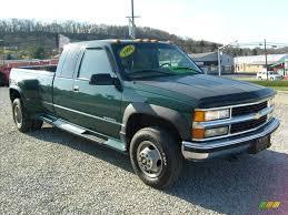 1998 Meadow Green Metallic Chevrolet C/K 3500 K3500 Cheyenne ...