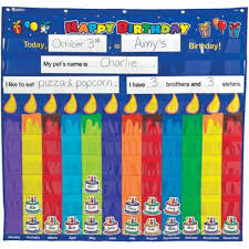 Birthday Pocket Chart Classroom Birthday Birthday Charts