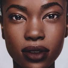 she s so pretty i love that lip color beauty dark skin makeup natural