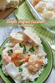 Learn how to make seafood casserole. Simple Seafood Casserole Maria S Mixing Bowl Simple Seafood Casserole