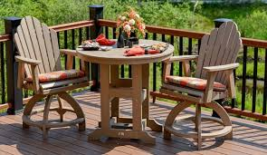 high quality poly outdoor deck furniture from berlin gardens