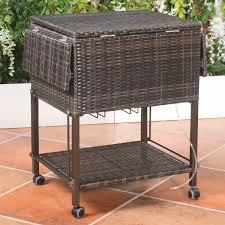 portable patio bar. Patio Bar Cart Portable