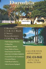 danubia apartments n th st mcallen tx show me the rent attachments links