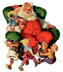 Image result for post christmas santa