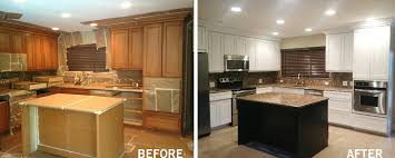 Kitchen, Kitchen Cabinet Refinishing Fort Lauderdale Florida Refacing Kitchen  Cabinets Cost Refinishing Kitchen Cabinets Before ... Gallery