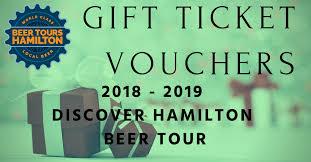discover hamilton beer tour gift beer tours hamilton gift voucher