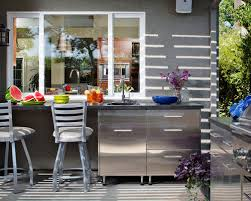 Wonderful Contemporary Backyard Concrete Patio Kitchen Idea In Sacramento With A Roof  Extension Design Inspirations