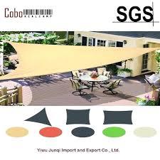 multi sizes sun shade sail fabric outdoor garden canopy patio pool awning cover sunscreen block 3