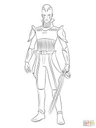 Small Picture Star Wars Rebels The Inquisitor coloring page Free Printable