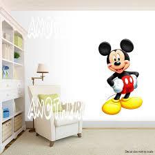 yuesen mickey mouse wall stickers kids