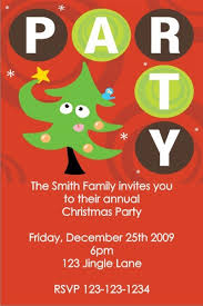 Christmas Holiday Invitations Christmas Holiday Party Invitation Click To Personalize