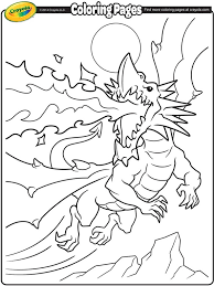 22 Dragon sketch?mh=762&mw=645 fire breathing dragon coloring page crayola com on fire coloring pictures