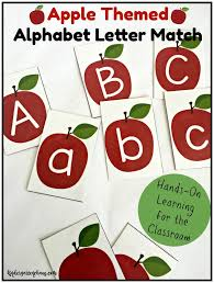 Apple Tree Pocket Chart 10 Activities For Apple In The Kindergarten Classroom