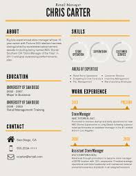 Infographic Resume Template Venngage Resumes Pinterest