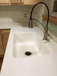 Kitchen Reno In Progress Lg Hi Macs Arctic Granite Solid Surface