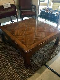 henredon coffee table wood coffee table henredon natchez coffee table