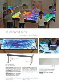 Educational Play Light Table Dusyma International Catalogue 2015 2016 By Etc Educational