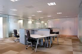 Single Glazed Frameless Glass Wall Partition Gallery 12