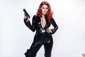 Avengers VR Porn Cosplay Valentina Nappi Black Widow MobileVRXXX