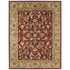 kaleen mystic william red 8 ft x 10 ft area rug